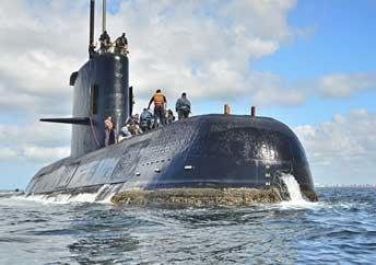 Информационное агентство REGNUM: Специалисты Аргентины и РФ изучили пять объектов при поисках подлодки